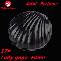 17# new 2014 New Arrivals 15g shell perfum frances Fragrance Body Solid Perfume For Women christmas gift