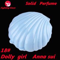 18# new 2014 New Arrivals 15g shell perfumes Fragrance  Brand Perfume For Women christmas gift