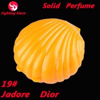 19# new 2014 New Arrivals 15ml shell perfum Fragrance Parfum Brand Perfume Ointment For Women christmas gift