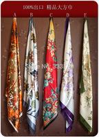 special offer  outside the single poop,zero profit  authentic  silk scarves wholesale elegant women shawls scarves large square,