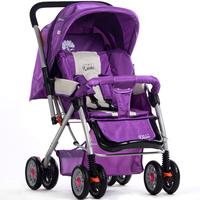 Le treasure baby stroller baby car light folding trolley shock absorbers four wheel baby stroller two-way