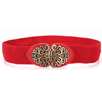 2014 New Fashion Accessories Alloy flower leather belt Brand women vintage Girdle belts for women cheap-fine store