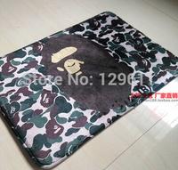 cartoon carpet brand name fashion rug 40*60cm rectangle Water wash  bathroom slip-resistant mats skid carpet freeshipping