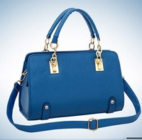 BUENO 2013 hot fashion women jelly shoulder bag pillow designer candy colors handbag elegant messenger bags HL215