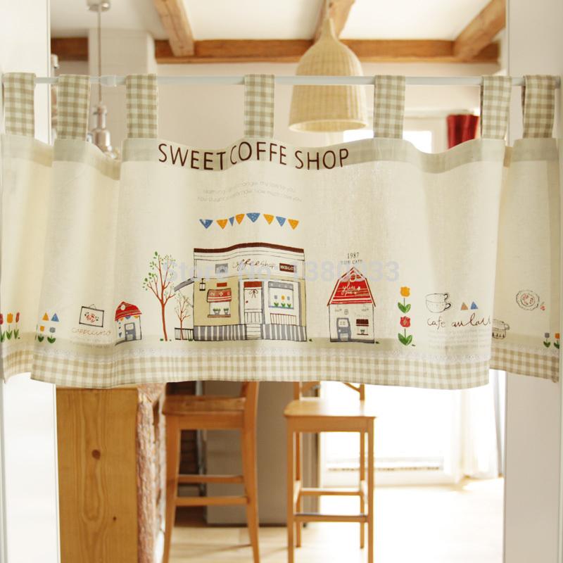 Achetez en gros styles rideau de cuisine en ligne des grossistes styles rid - Rideaux style campagnard ...