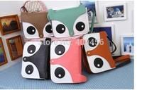 2014 new fashion women handbag cartoon bag owl fox shoulder bags women messenger bag Owl Fox PU Handbags 50pcs/lot
