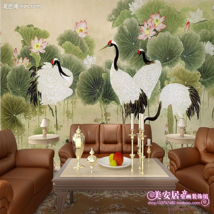 Large custom mural wallpaper background wallpaper the living room TV sofas bedroom mural crane load chart show(China (Mainland))