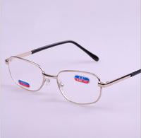 Free Shipping Noble Reading Glasses for Men Readers Optical men's box resin film reading glasses reading glasses silver 9035