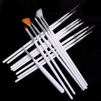 15pcs professional nail brush set  Art Gel Design Painting Pen Polish Brush Set Tool Kit