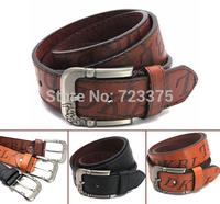 2014 the European and American brand Joker Men pin buckle belt Men's Lady PU leather wide belt fashion New Hot male Leisure belt