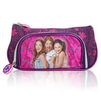 Frozen Girls estojo escolar Violetta Pencil case Bag School Cute  2 Zipper Pencil Bag Child Student Pen Case Gift Child 21*11*6