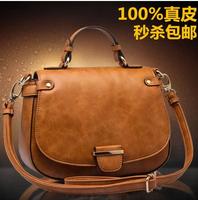 2014 WEIDIPOLO women's vintage handbag genuine leather cross-body handbag messenger bag