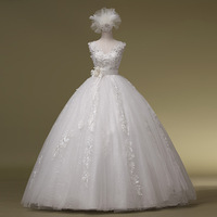 2014 Sale New Arrival Up None Romantic Sexy Double-shoulder Sparkling Diamond Luxury Bandage The Bride Wedding Dress Gownbridalk