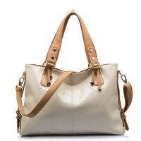 Hot-selling leather fashion women's handbag shoulder bag genuine leather  cross-body bag