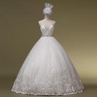 2014 Sale Off The Shoulder Fashionable Wedding Dress Vestido Romantic Heart Tube Top Bandage The Bride Wedding Dress Gownbridalk