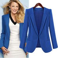 Europe and America 2014 new Fashion Star Slim suit jacket female models BM-080