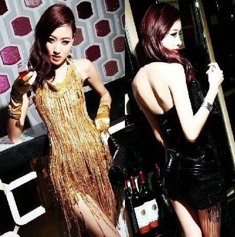 2015 hot mulheres moda luxo roupas boate jazz tango vestidos dancewearsamba aptidão saia expansão vestido social franja(China (Mainland))