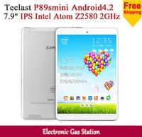 "Teclast P89smini Intel Atom Z2580 2GHz 1G RAM 16G ROM 7.9"" 1024*768 IPS 2.0MP Camera Bluetooth Tablet PC"