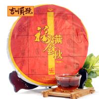 357g puer tea 2012 years ripe shu pu er chinese new puerh health care pu erh yunnan menghai premium freeshipping jishunhao AAAAA