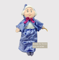 Free shipping sleeping beauty toy The fairy godmother plush toy Cartoon  Plush Toys Kids Dolls for Gifts