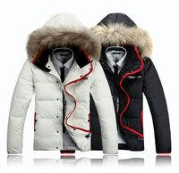 2014 winter overcoat outwear S/M/L/X//XXL/XXXL New Arrival hooded  Men's thicken Jacket winter Duck Down Jackets free shipping
