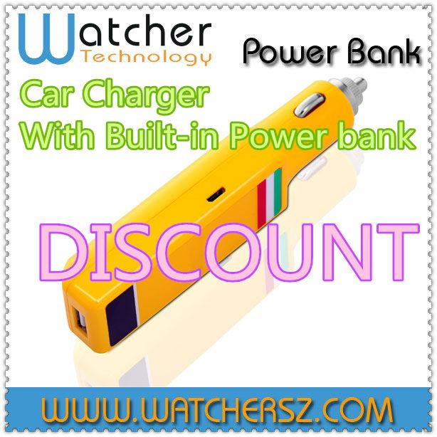 3000mAh Portable Car Battery Mini Emergency Charger Multi-function Laptop Mobile Phone Power Bank Starthilfe(China (Mainland))