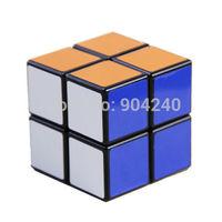 Shengshou 2x2x2 Magic Cube Puzzle Educational Spring 2x2 Black Twist Puzzle Educational Kids Children Gift Toys