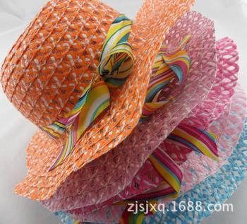 Хиты 2014 распродажа новый шляпа мода симпатичные кружева стримерные дети хлопок ведро крышка розничная