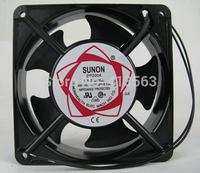 Free Shipping! 12038  SUNON 2123 220V 120 * 120 * 38 Copper Clad Aluminum 12CM cooling fan      1019