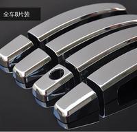 Chevrolet CRUZE sedan hatchback ABS Chrome trim Chromium Styling door handles cover sticker,car Exterior decoration products