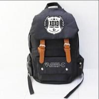 EXO LAY shoulder bag XOXO bags around the Korean / shoulder bag LUHAN BAEKHYUN SEHUN KRIS CHAN YEOL TAO XIUMIN KAL BTS