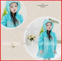 Hot sale new Frozen Rain Coat children Raincoat Rainwear Rainsuit,Kids Waterproof Frozen Elsa Raincoat Children's cartoon poncho