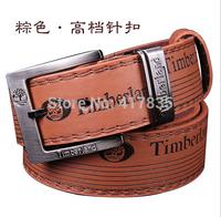 New 2014 Men's Cowskin Leather Belt men brand belt women fashion buckle strap male pin buckle,hip jeans belts  Free shipping DHL