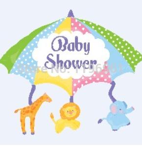 Baby shower 100 dias festa de aniversário decoração guarda-chuva leão elefante girafa alumínio hélio balão de alumínio(China (Mainland))