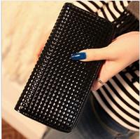 2014 New Women Wallets Brand Design High Quality PU leather Wallet High Quality Fashion Lady Handbags Free Shipping  Purse C014