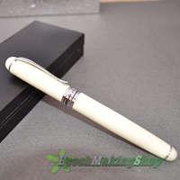 HOT SALE !! JINHAO X750 IVORY WHITE 18 GKP  Medium  NIB FOUNTAIN PEN NEW