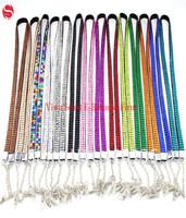 Rhinestone Bling Crystal Custom Lanyard Eyeglasses Chain Holder Necklace