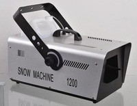 free shipping 1200w snow machine