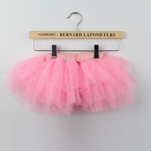 Fashion Baby toddler infant 4 layered tulle tutu pettiskirt  Baby tutu pettiskirt  4-24 Mo(China (Mainland))