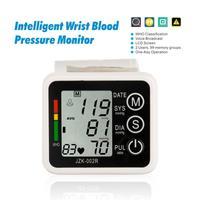 Health Monitors Automatic Digital Wrist Blood Pressure and Pulse Monitor Sphygmomanometer Portable Blood Pressure Monitor