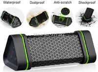 outdoor Sports Earson Portable Waterproof Wireless Bluetooth Speaker Shockproof  ,Hi FI Stereo subwoofer loudspeaker boombox