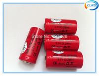 Free shipping 10pcs/lot 3.7v 600mah AW 16340 battery for e-cig