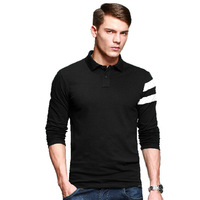 2014 polo men long sleeve polo shirts big and tall size clothing collares pullover men polo shirt sport desigual free shipping
