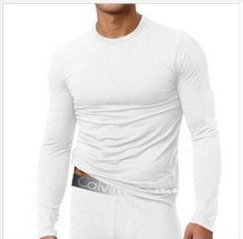 New 2014 men's modal thermal underwear men's long johns men's winter underwear thickness style M L XL XXL(China (Mainland))