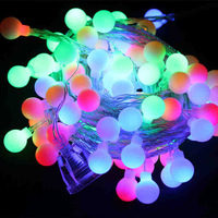 100 Leds Colorful String Light 10M 220V Decoration Light for Christmas Party Wedding 8 Colors Free Shipping