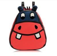 Hot sale 2014 new cartoon cute adorable zebra shoulder bag backpack schoolbag bag men and women --Free shipping