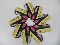 Hot Selling Colorful Embroidery Iron Set Golf Headcover