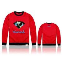 2014 Diamond Supply cheap Pink dolphin Sweatshirts Men's crewneck sweatshirts hip hop hoodies sweater mix order UNKUT