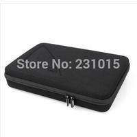 Gopro Case Large For Gopro Hero3+ Hero3 Hero2 Gopro Bags Camera Accessories POV 4.0 Black(32 x 22 x 6.5 cm)