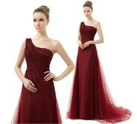 High quanlity Lace Prom Long  Evening Dress Chiffon party dress Sexy gown top grade dress  E1316
